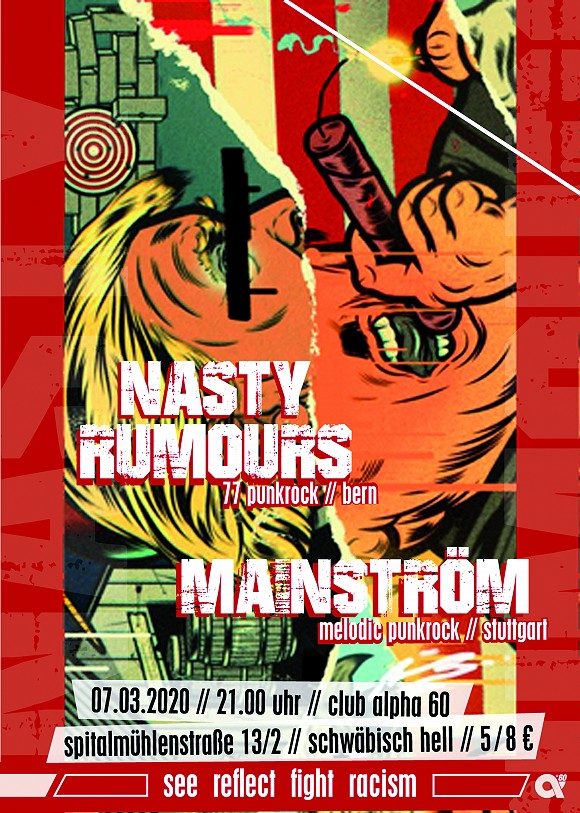 Nasty Rumours + Mainström